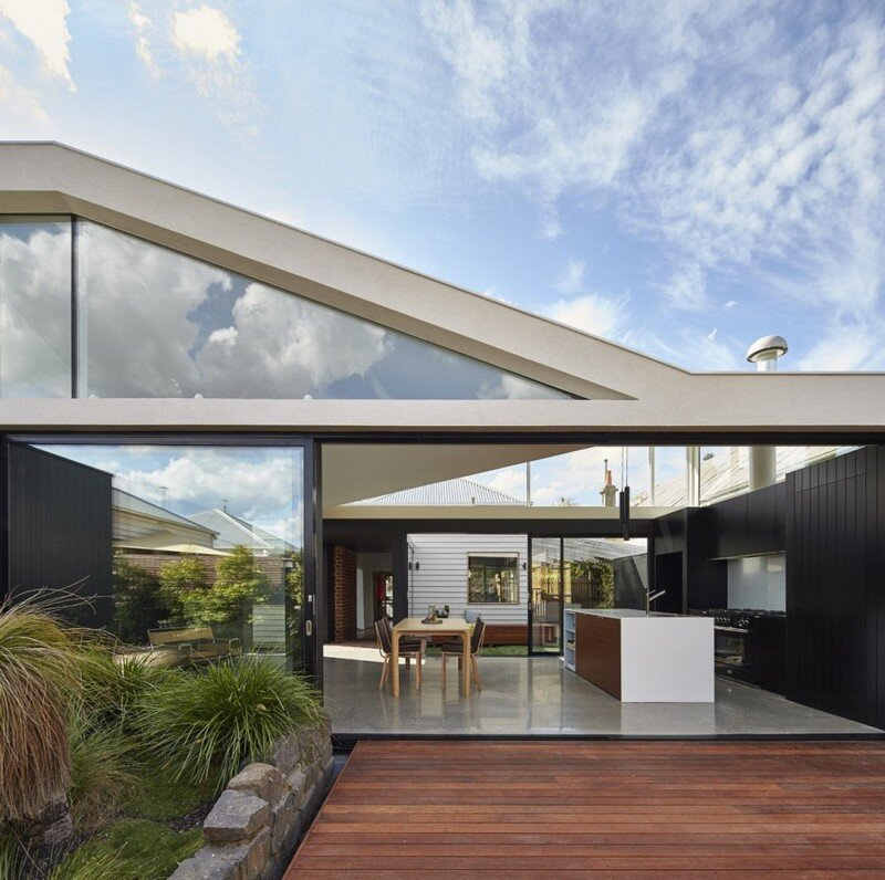 Addition To An Existing Double Fronted Dwelling: Tunnel House