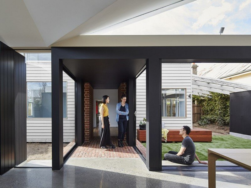 Tunnel House - Addition to an Existing Double Fronted Dwelling (9)