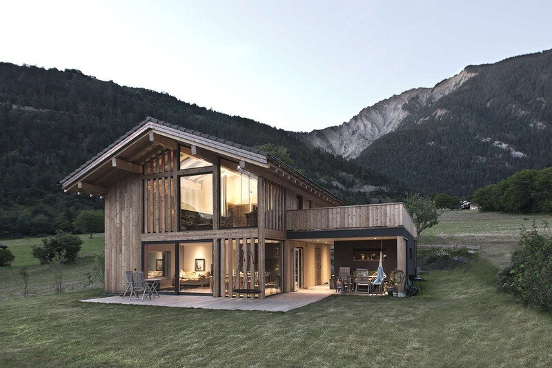 VS House by Alp'Architecture sàrl Switzerland (1)