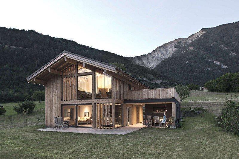 Mg2 house alain carle architecte for K architecture geneve