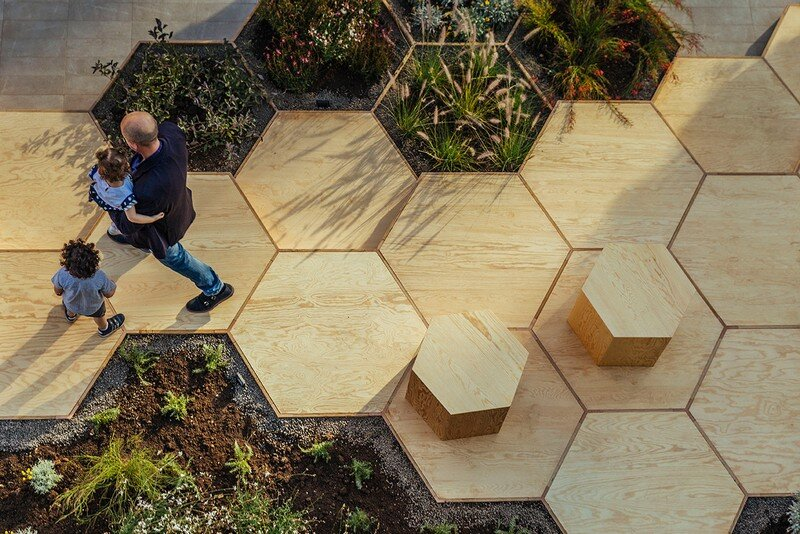 Zighizaghi - Urban Garden by OFL Architecture (2)