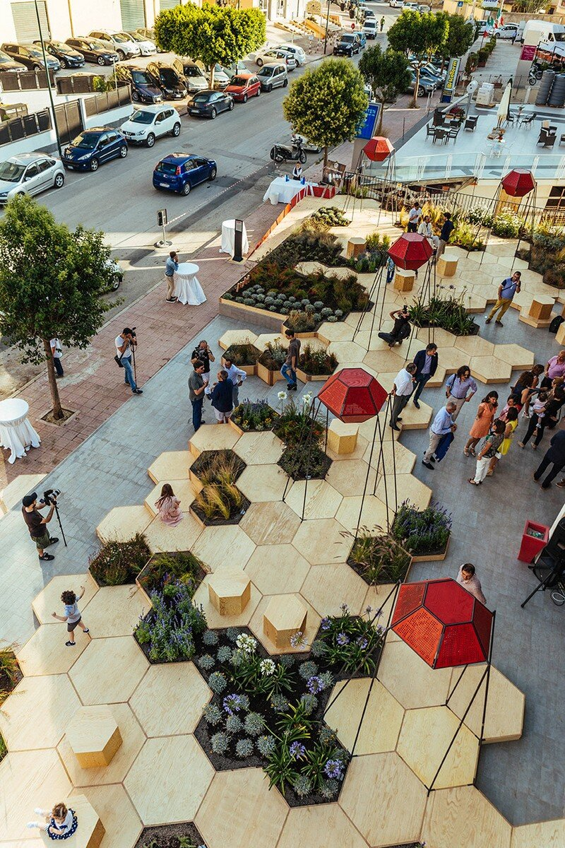 Zighizaghi - Urban Garden by OFL Architecture (6)