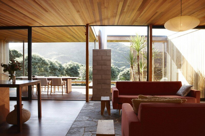Bethells Bach - Two-Bedroom Bach at the Beach by Herbst Architects (9)