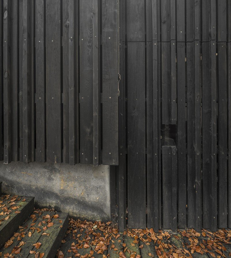 Black Wood House by Marchi Architectes (4)