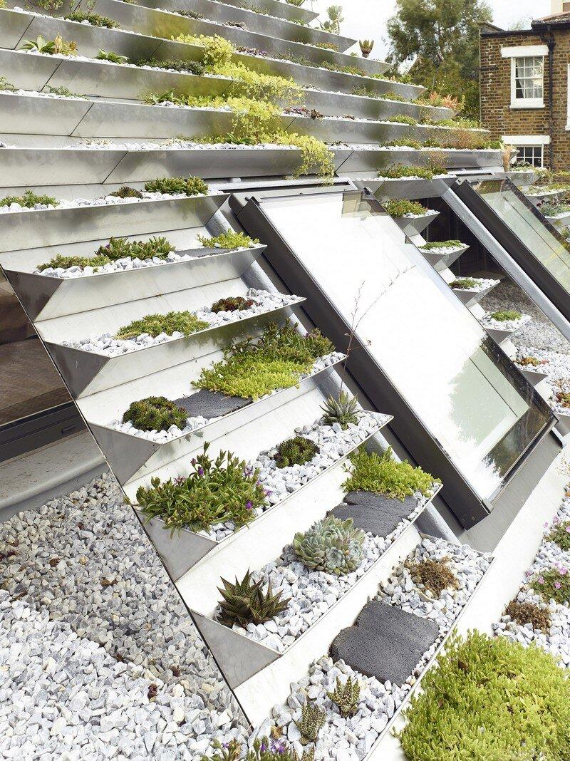 Garden House Under A Hanging Basket Roof Hayhurst