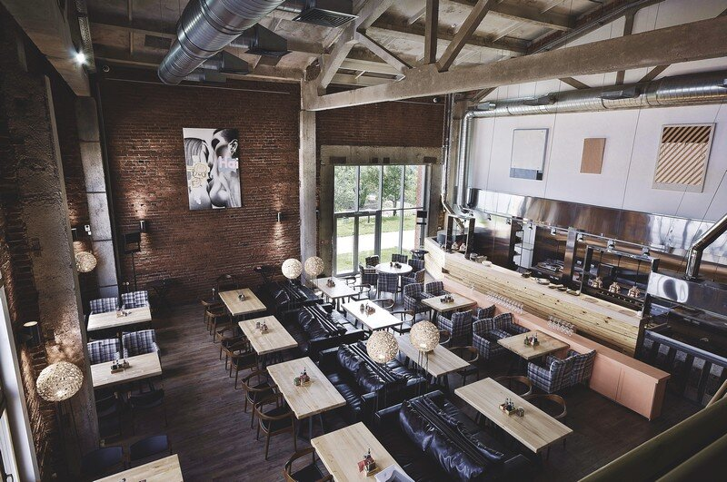 Gastroport Restaurant Designed with a Significant Industrial Footprint by Allartsdesign (1)
