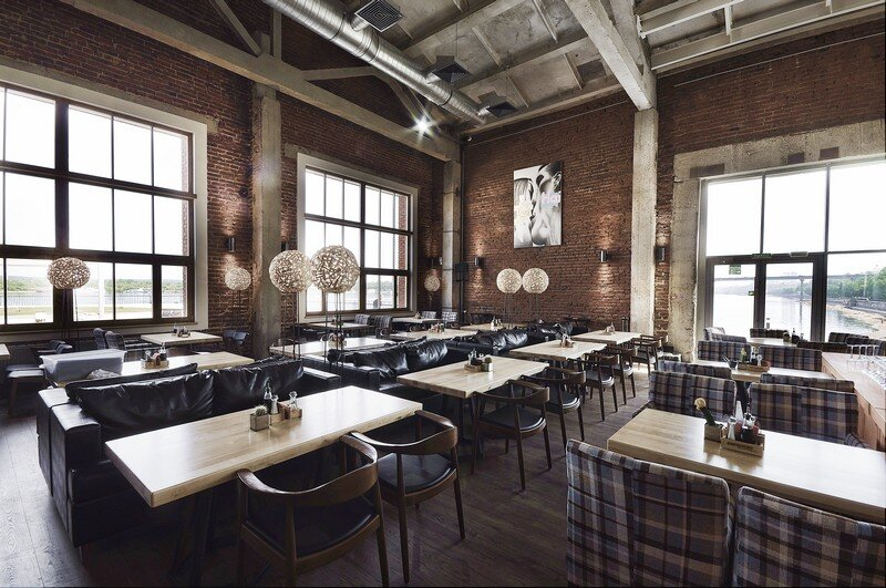 Gastroport Restaurant Designed with a Significant Industrial Footprint by Allartsdesign (2)