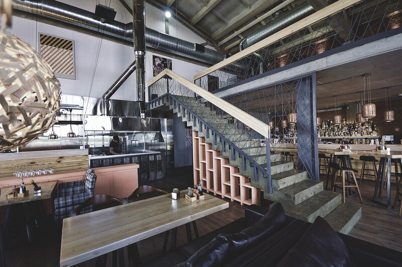 Gastroport Restaurant Designed with a Significant Industrial Footprint by Allartsdesign (21)