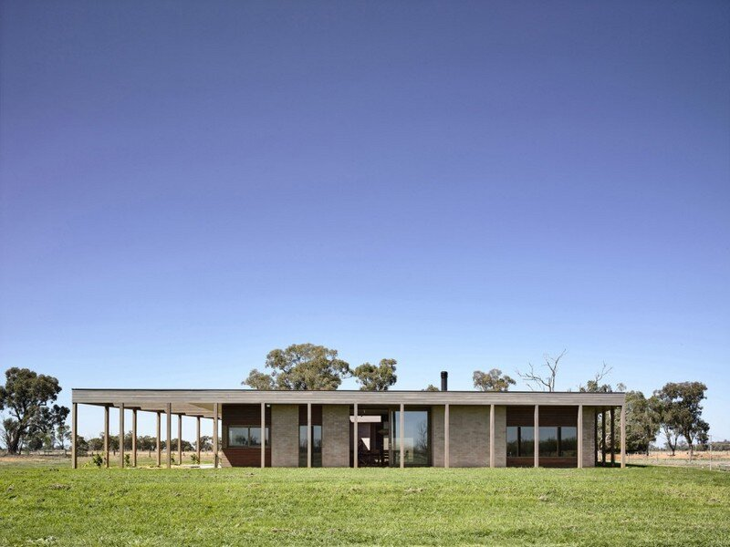 Goulburn Valley House by Rob Kennon Architects (15)
