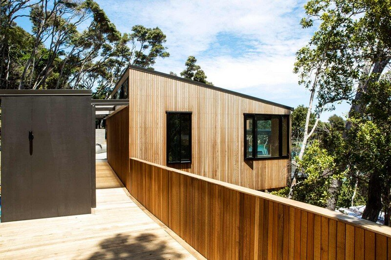 Holiday Home for a Family of Four on Kawau Island Dorrington Atcheson Architects (19)