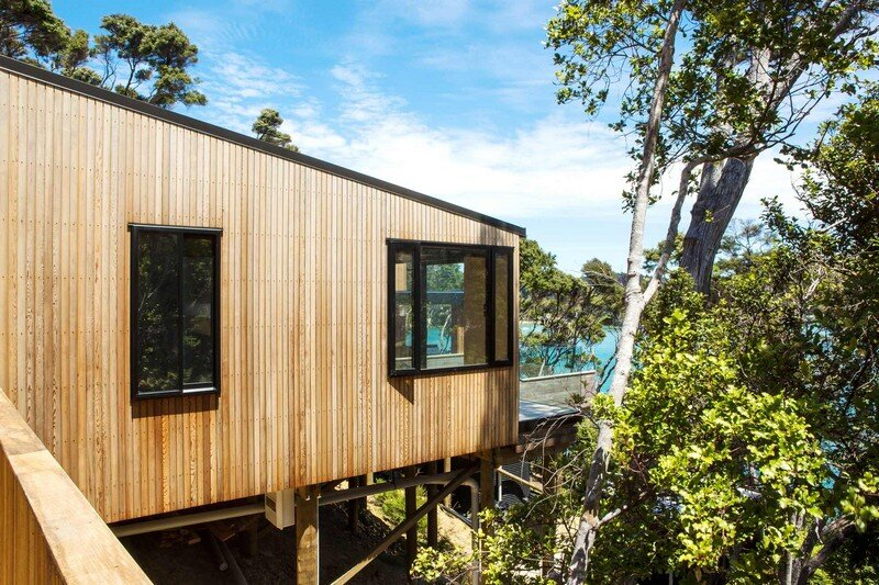 Holiday Home for a Family of Four on Kawau Island Dorrington Atcheson Architects (20)