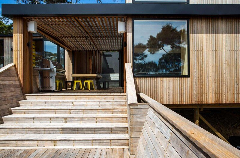 Holiday Home for a Family of Four on Kawau Island Dorrington Atcheson Architects (23)