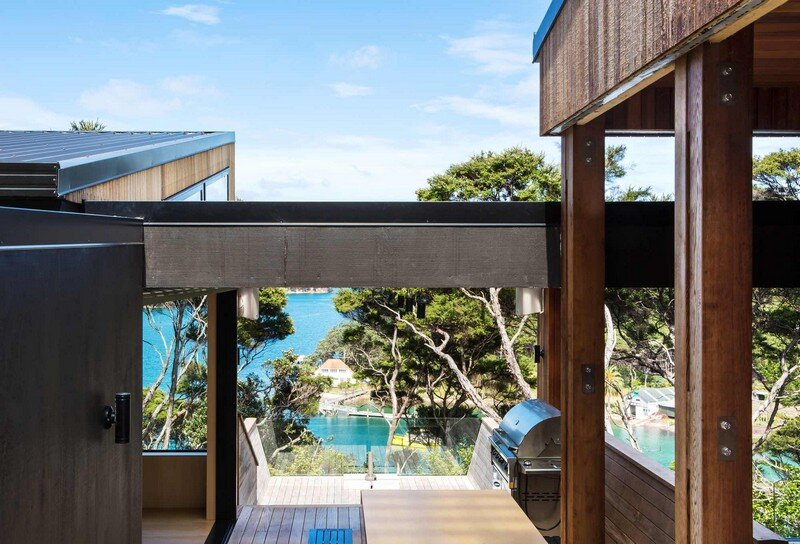 Holiday Home for a Family of Four on Kawau Island Dorrington Atcheson Architects (5)