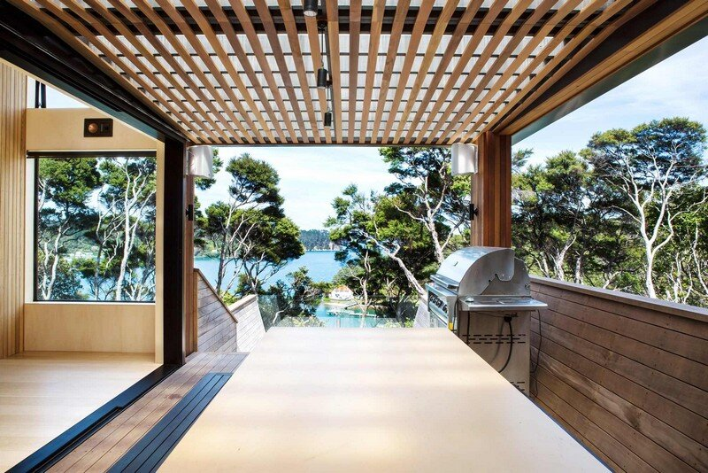 Holiday Home for a Family of Four on Kawau Island Dorrington Atcheson Architects (6)