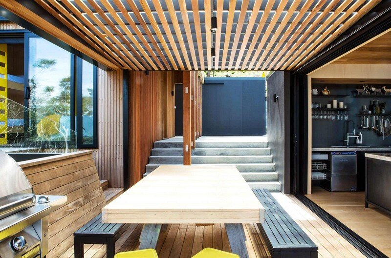 Holiday Home for a Family of Four on Kawau Island Dorrington Atcheson Architects (7)