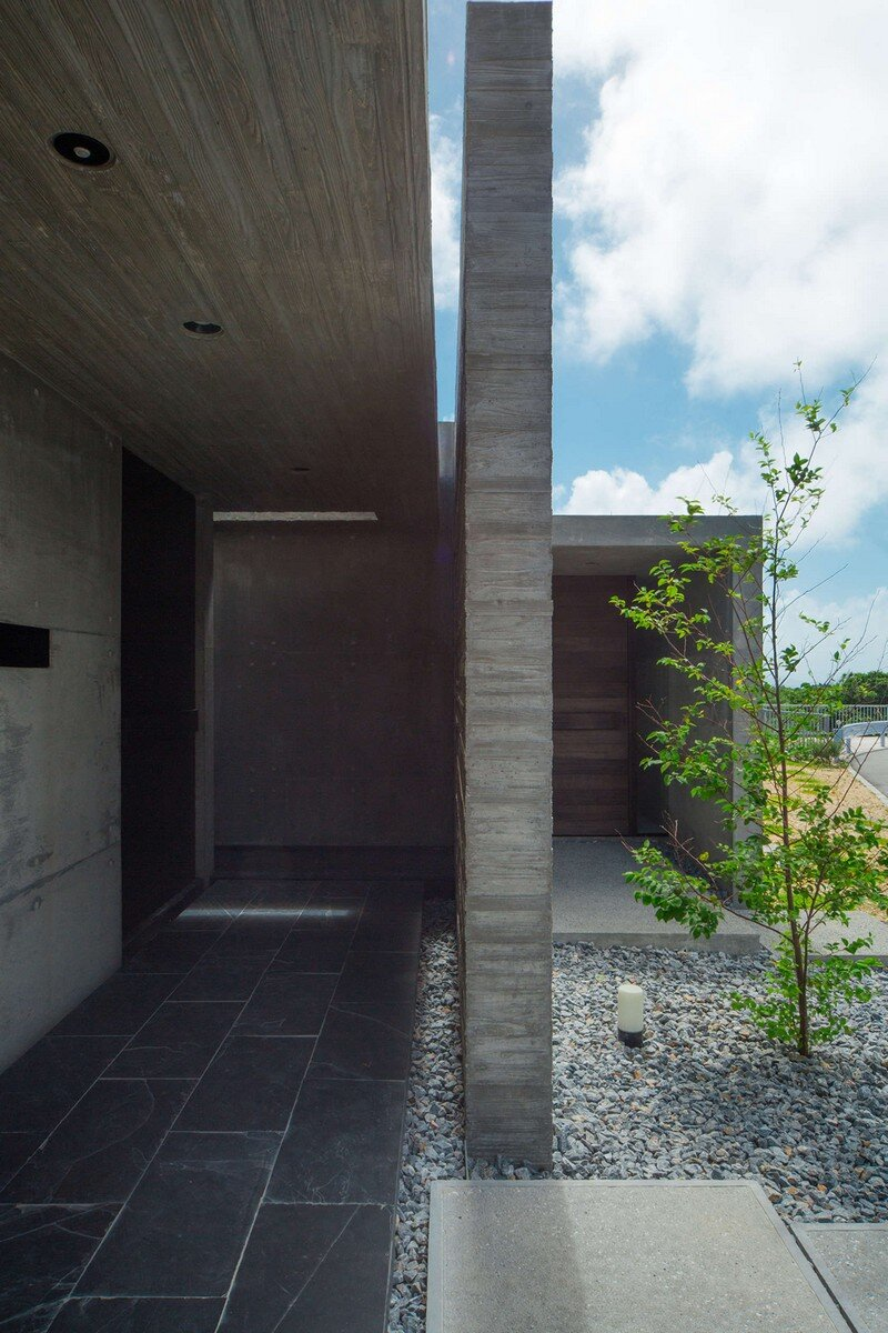 House with Panoramic Ocean View in Okinawa CLAIR Archi Lab (4)