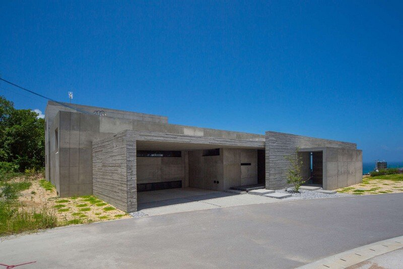 House with Panoramic Ocean View in Okinawa CLAIR Archi Lab (5)