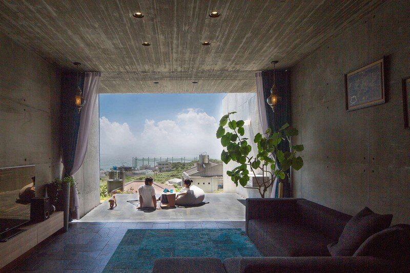 House with Panoramic Ocean View in Okinawa CLAIR Archi Lab (9)