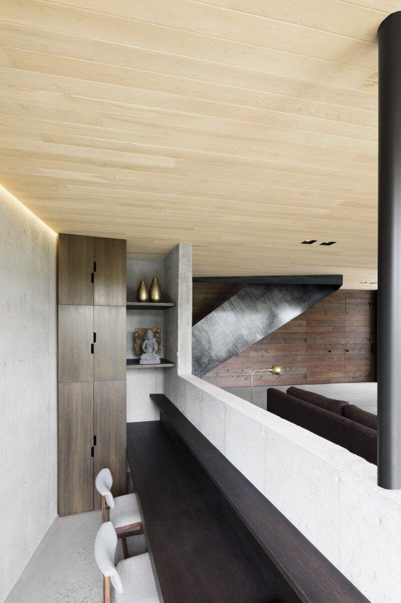 La Héronnière - Low Impact House Design by Alain Carle Architect (15)