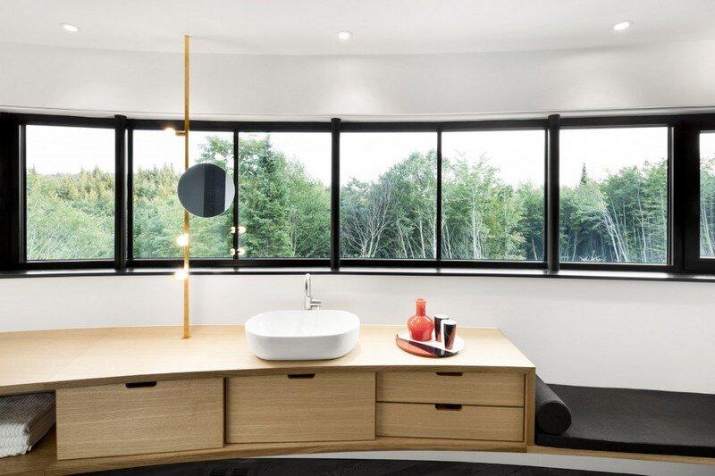 La Héronnière - Low Impact House Design by Alain Carle Architect (16)