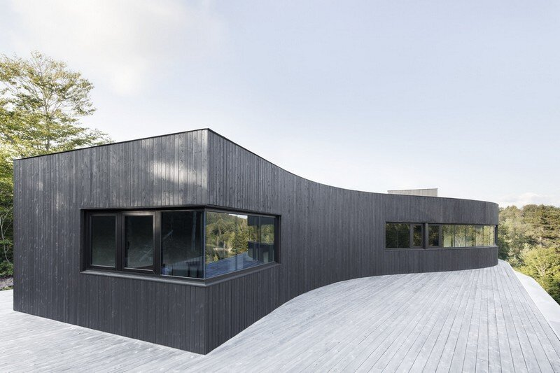 La Héronnière - Low Impact House Design by Alain Carle Architect (4)