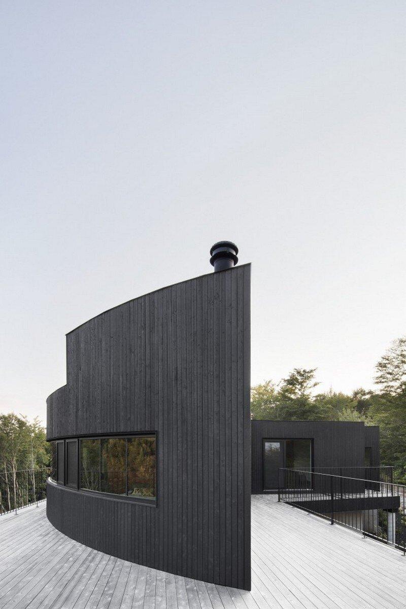 La Héronnière - Low Impact House Design by Alain Carle Architect (6)