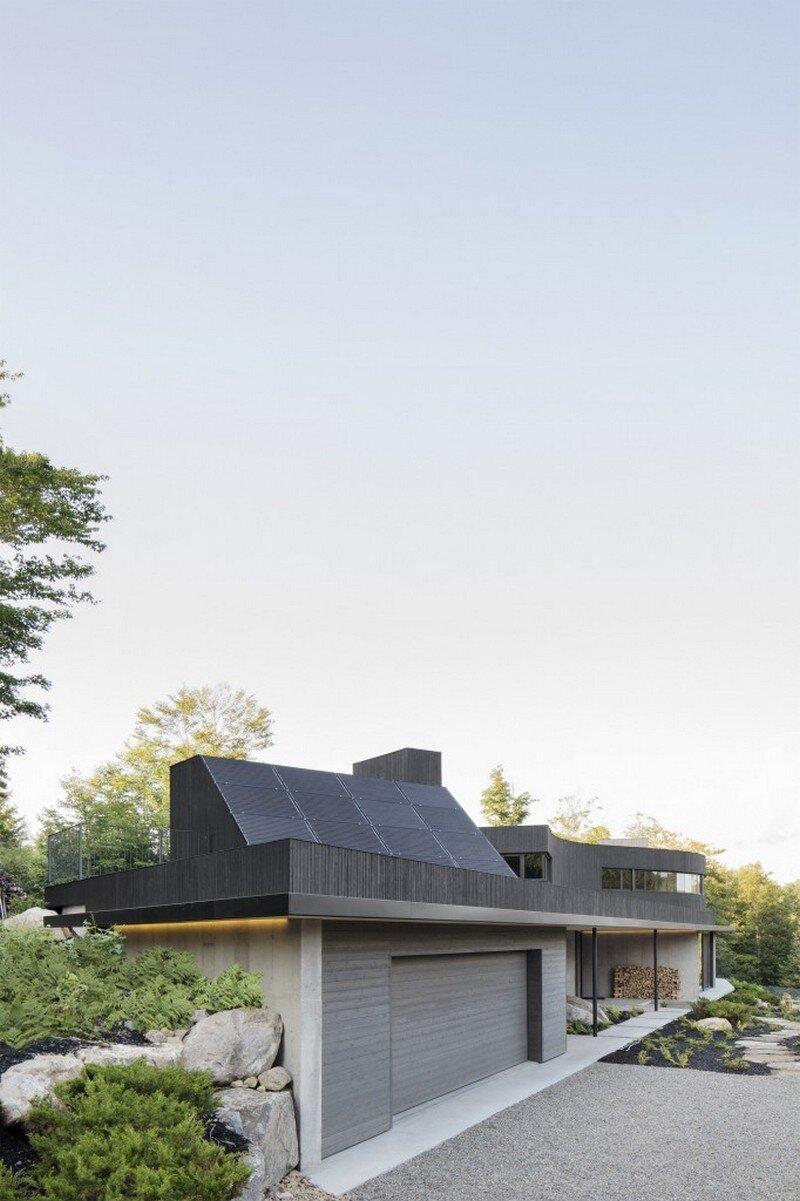 La Héronnière - Low Impact House Design by Alain Carle Architect (7)