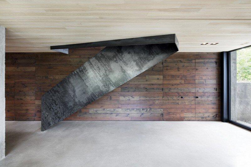 La Héronnière - Low Impact House Design by Alain Carle Architect (8)