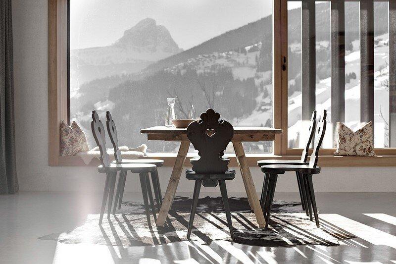 La Pedevilla - Modern Refuge in the Dolomites Pedevilla Architects (6)