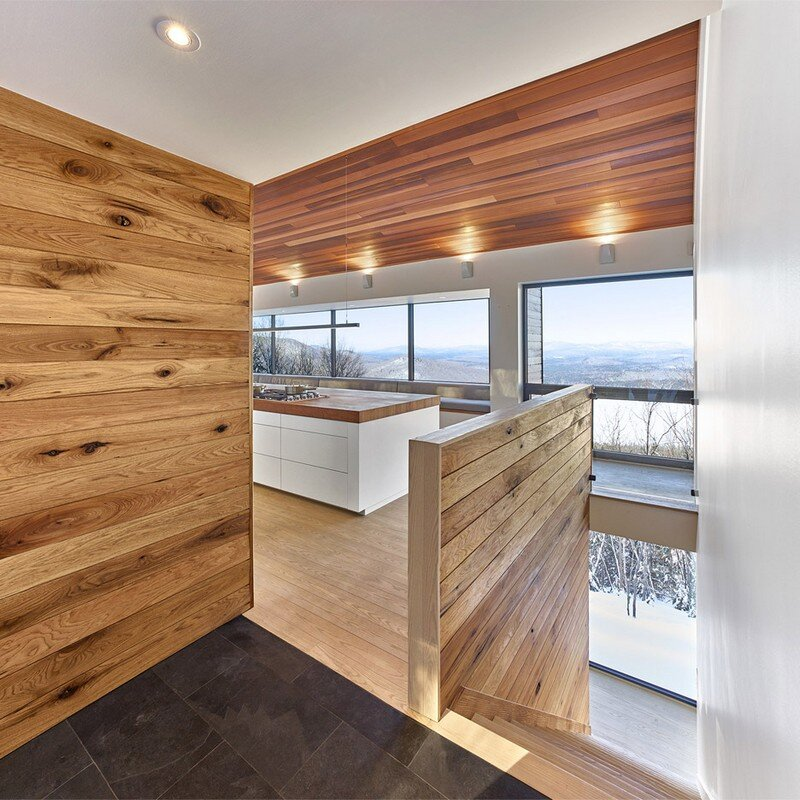 Laurentian Ski Chalet - Weekend Retreat Located on the Steep Slope of a Former Ski Hill (2)