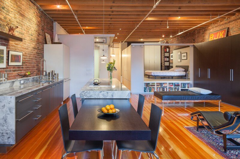 Leather District Loft by Luz Architects Studio