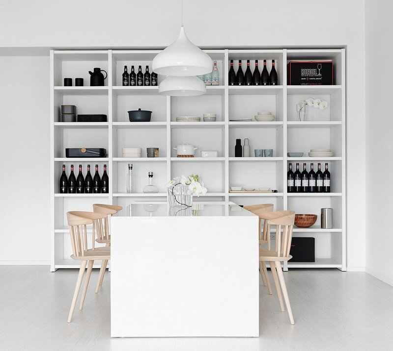 Minimalist White Apartment - Tsai Residence by Tai & Architectural Design (1)