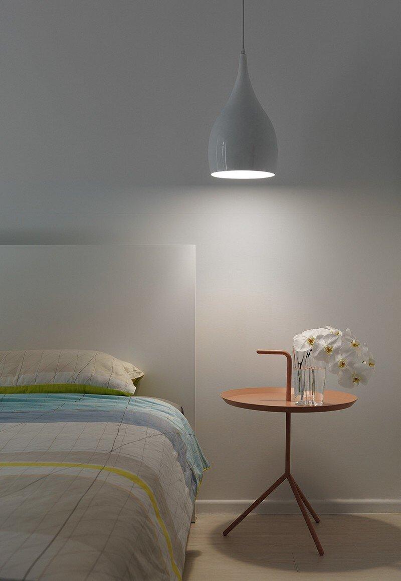 Minimalist White Apartment - Tsai Residence by Tai & Architectural Design (10)