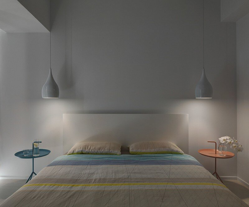 Minimalist White Apartment - Tsai Residence by Tai & Architectural Design (12)