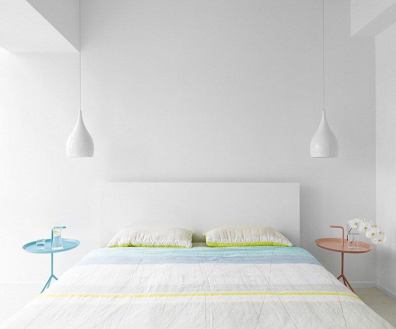 Minimalist White Apartment - Tsai Residence by Tai & Architectural Design (13)