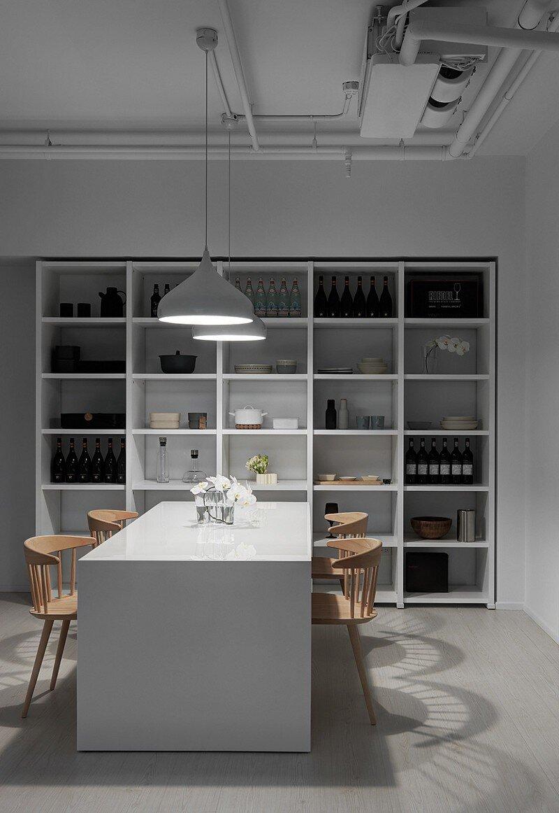 Minimalist White Apartment - Tsai Residence by Tai & Architectural Design (2)