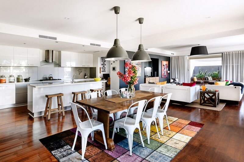 North Coogee House - Rustic and Fun Design by Collected Interiors (11)