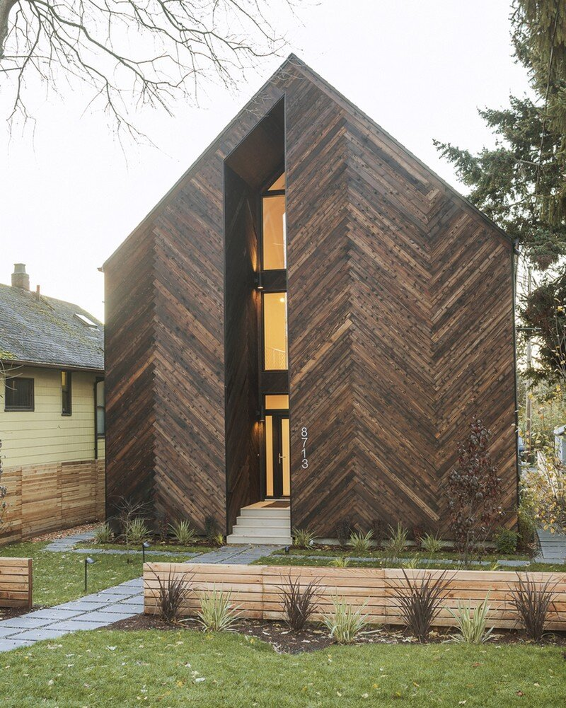 Palatine passive house in north seattle by malboeuf bowie for Passive energy house design