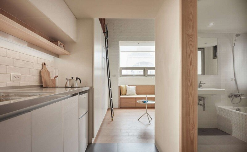 Renovation of a 22 sqm Old Flat in Taipei City A Little Design Studio (10)