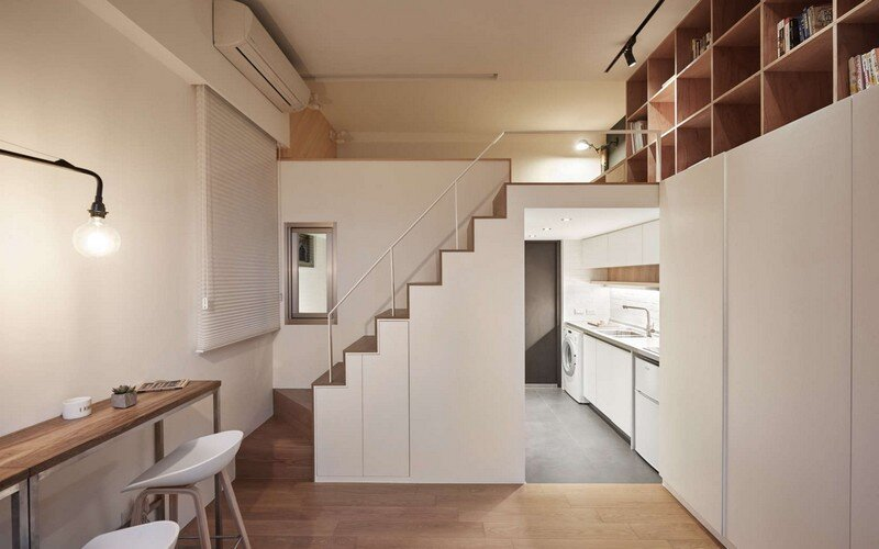 Renovation of a 22 sqm Old Flat in Taipei City A Little Design Studio (11)