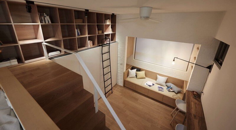 Renovation of a 22 sqm Old Flat in Taipei City A Little Design Studio (16)