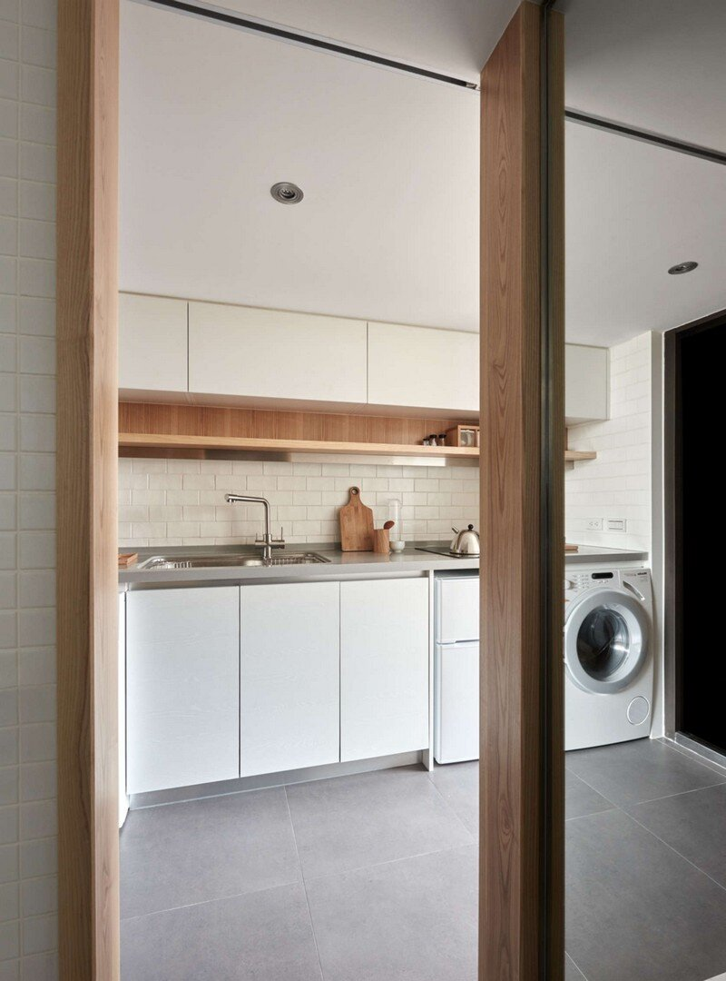 Renovation of a 22 sqm Old Flat in Taipei City A Little Design Studio (8)