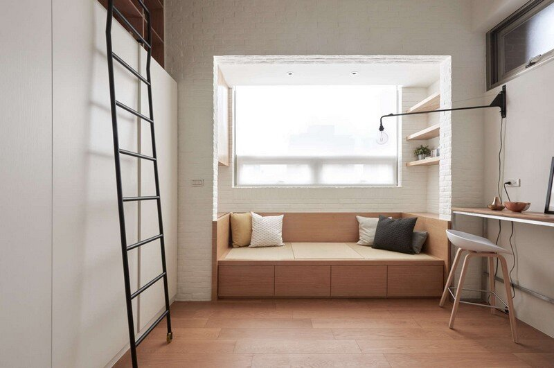 Renovation of a 22 sqm Old Flat in Taipei City A Little Design Studio (9)
