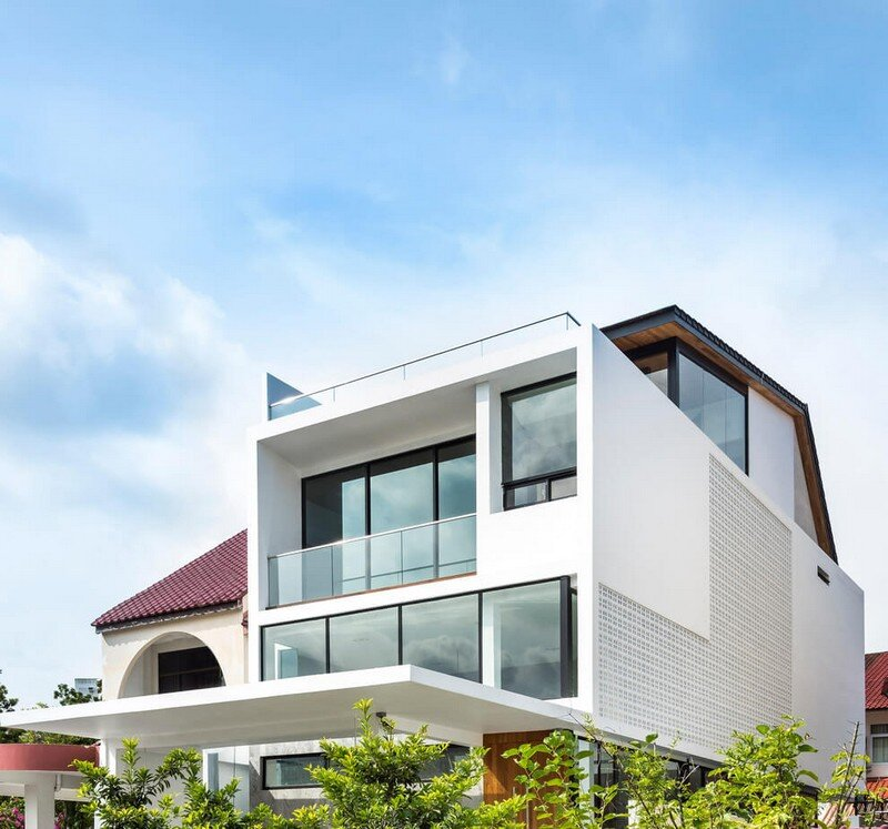 Semi-Detached Home in Singapore by Materium (15)