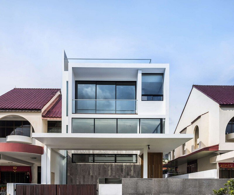 Semi Detached Home In Singapore Hier Architects