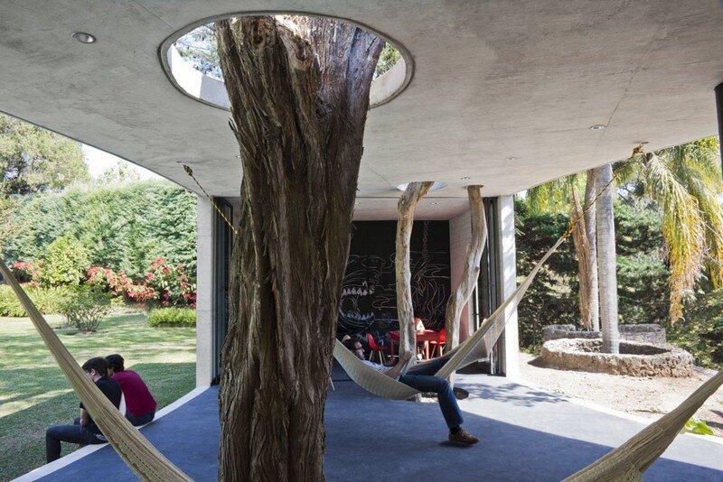 Tepoztlan Lounge - Modern Concrete Bungalow by Cadaval & Sola-Morales 1 (2)