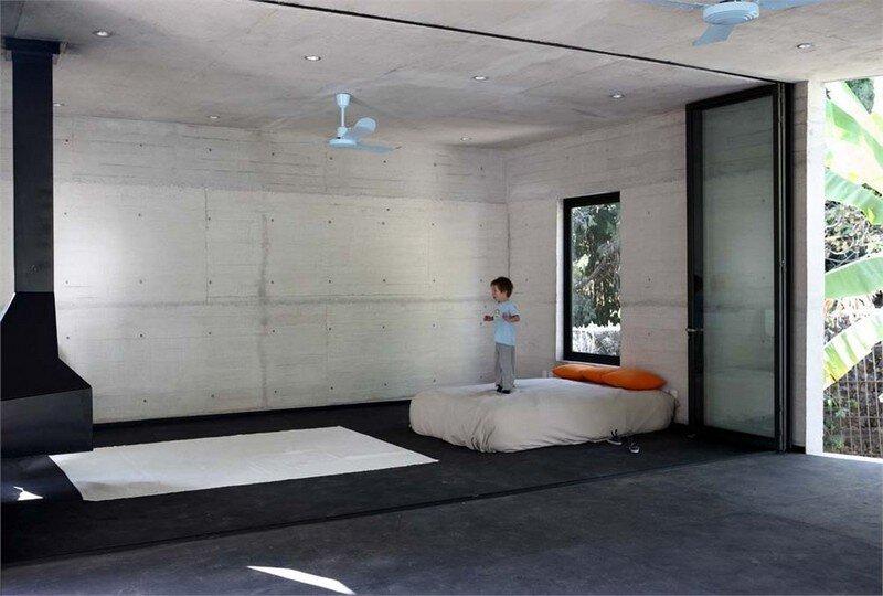 Tepoztlan Lounge - Modern Concrete Bungalow by Cadaval & Sola-Morales (15)
