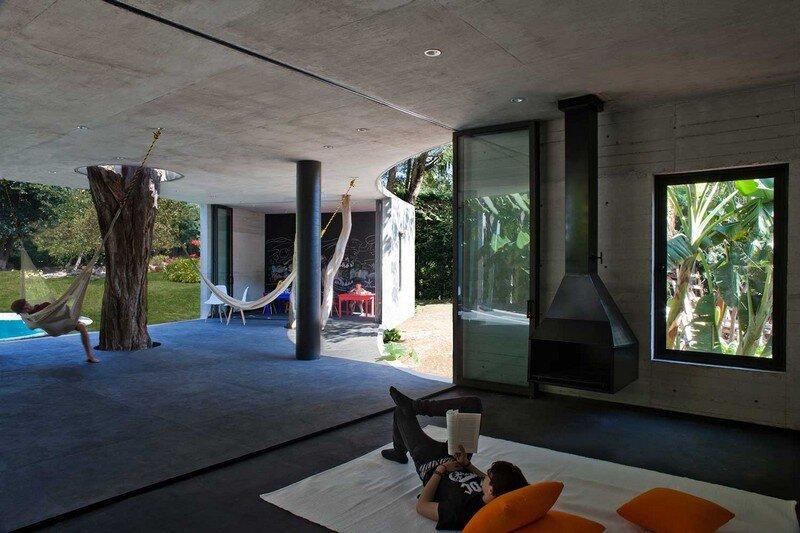 Tepoztlan Lounge - Modern Concrete Bungalow by Cadaval & Sola-Morales (6)