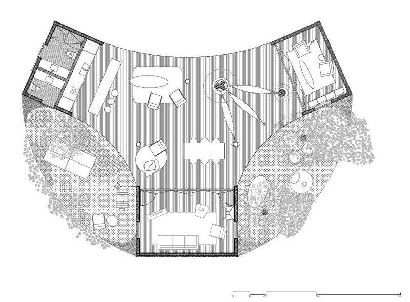 Tepoztlan Lounge - Modern Concrete Bungalow by Cadaval & Sola-Morales (9)
