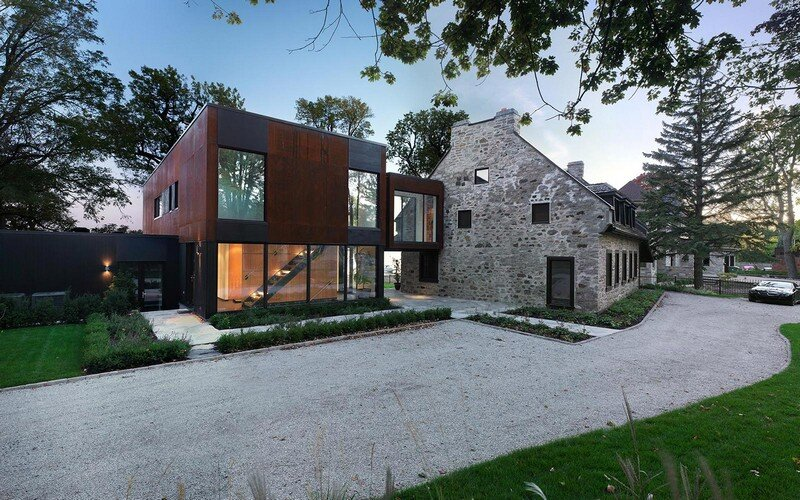 200 Year Old Stone House with Renovated Contemporary Interior